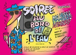 SOIREE AU BORD DE L'EAU 27 Aout 2016